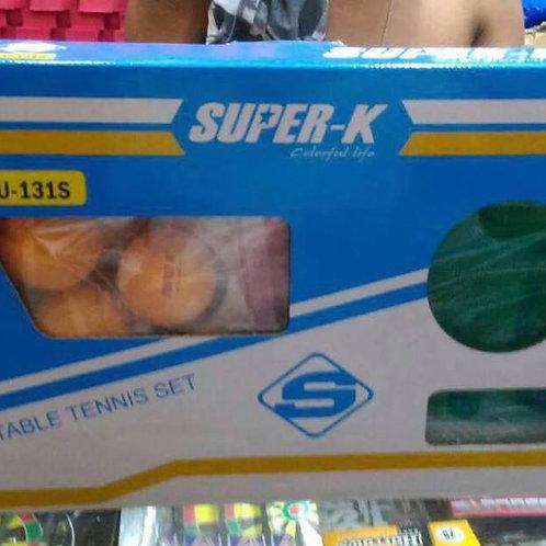 Super K Table Tennis Set