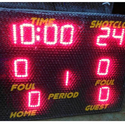 """30"""" x 42"""" LED Scoreboard GYRO with foul"""