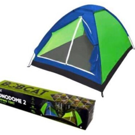 Bobcat Blue/Green 2-Person Monodome Tent with Box Coated