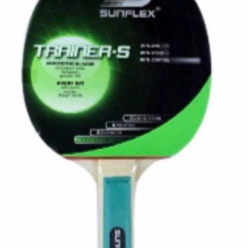 Sunflex Trainer-S Hobby Straight Handle Table Tennis Set