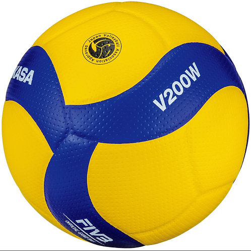 Mikasa V200W Leather Volleyball Ball