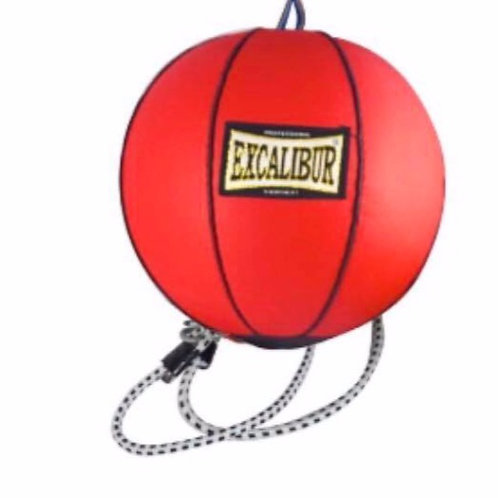 Excalibur Red Double Ended Punching Bag PU (Small)