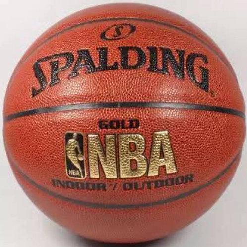 Spalding Basketball NBA GOLD
