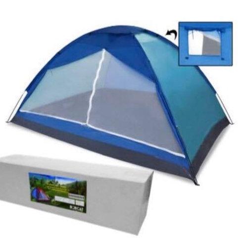 Bobcat Blue 10-Person Monodome tent with Box