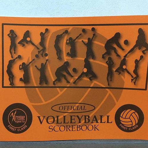 Volleyball Scorebook