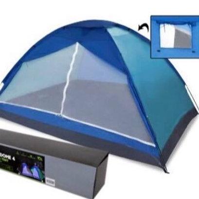 Bobcat Blue 4-Person Monodome Tent with Box