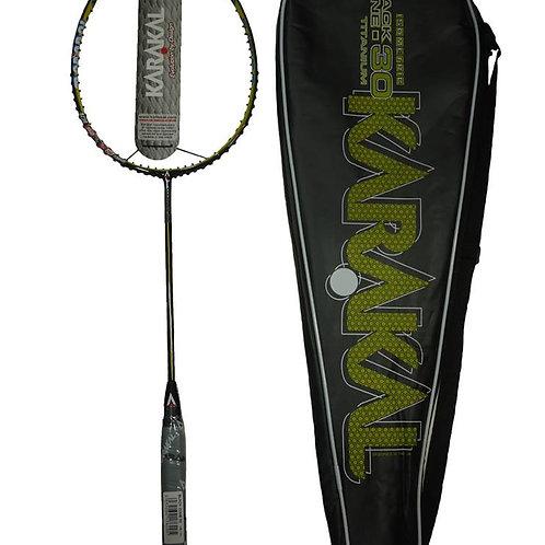 Karakal Badminton Racket Black Zone 30