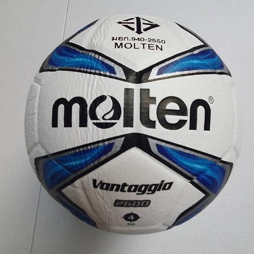 F4V2600 Molten Soccer Ball Leather Vantaggio Size 4