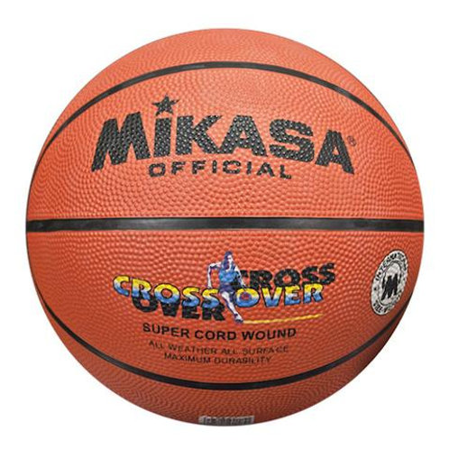 Mikasa-Crossover Rubber Basketball Print Official Size 7
