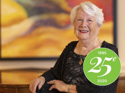 25e anniversaire: Souvenirs de Mme. Gisèle Spelman, résidente