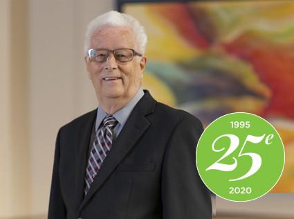 25e anniversaire: Souvenirs de M. André Forté, résident