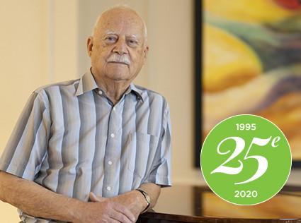 25e anniversaire: Souvenirs de M. Roger Tremblay, résident