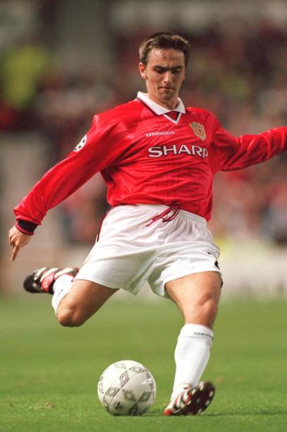 Micheal Clegg playing at Manchester United