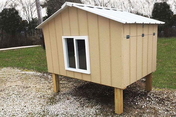 Chicken Coop - Hut with chicken package - St. Louis, MO - A+ Builds
