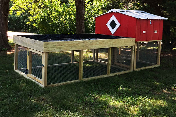 Chicken Coop - Coop De Villa Garden - St. Louis, MO - A+ Builds