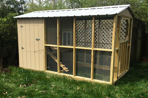 Chicken Coop - Chateau - St. Louis, MO - A+ Builds