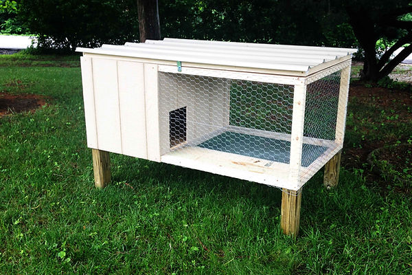 Rabbit Hutch - Chicken Coop - St. Louis, MO - A+ Builds