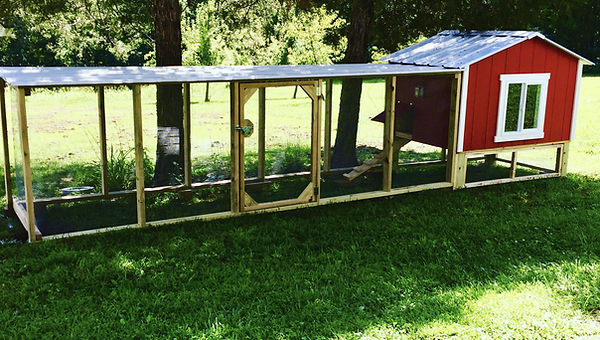 Chicken Coop - Hut with chicken package with 14ft run - St. Louis, MO - A+ Builds