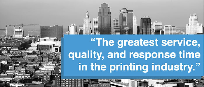 the greatest printing service in kansas city