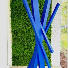 Blue Cross-Lines 2108