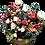 Thumbnail: Lighted Basket of Flowers