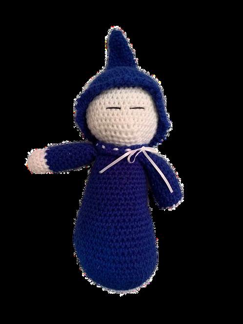 Blue Sleeping Baby Doll