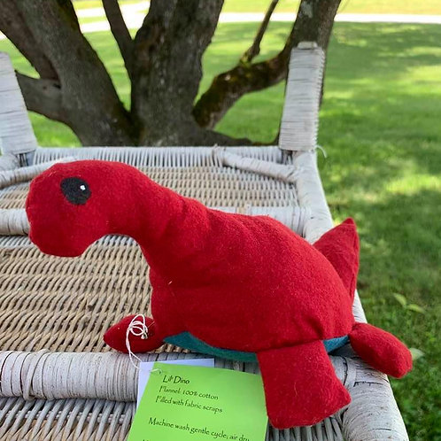 Lil' Red Dino with Blue Belly