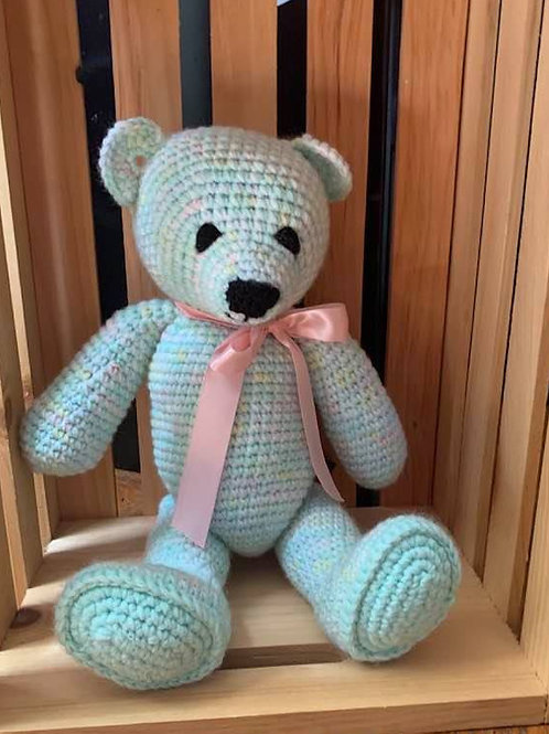Pastel Colored Teddy Bear