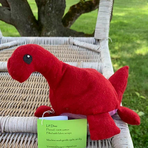 Lil' Red Dino with Purple Belly