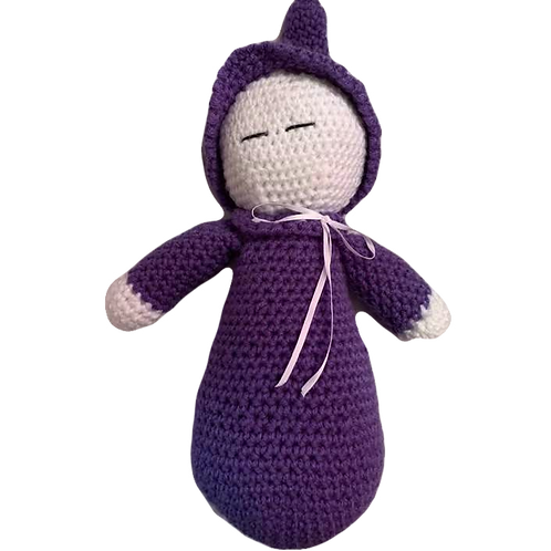 Purple Sleeping Baby Doll