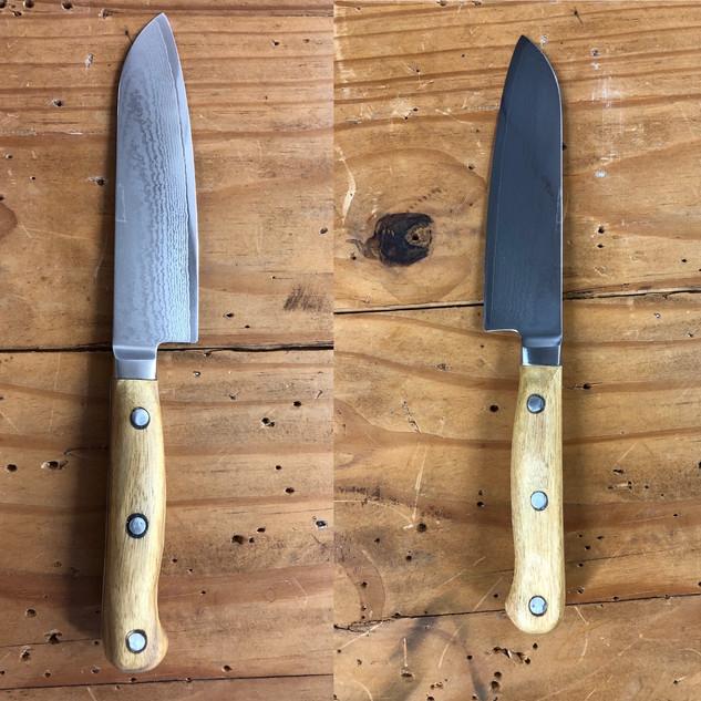 Small Santoku Chef Knife