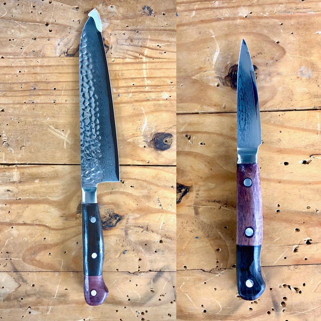 "8"" Chef Knife and Pairing Knife"