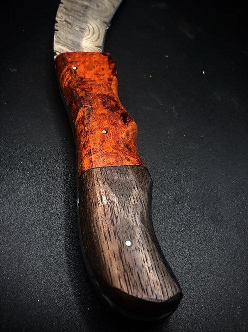 Mini Kukri with Ironwood and Ancient Bog Oak