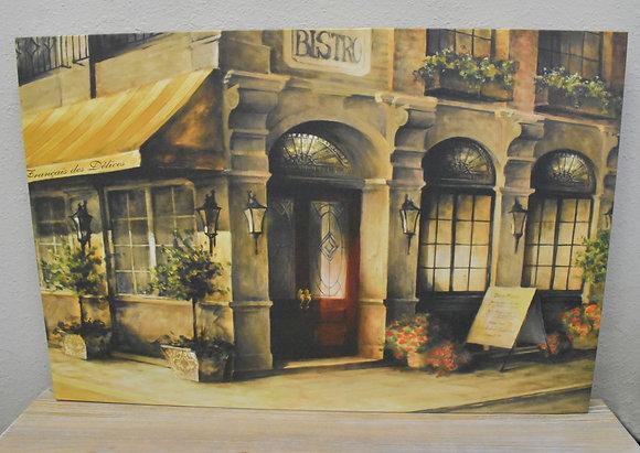 Bistro Canvas Art