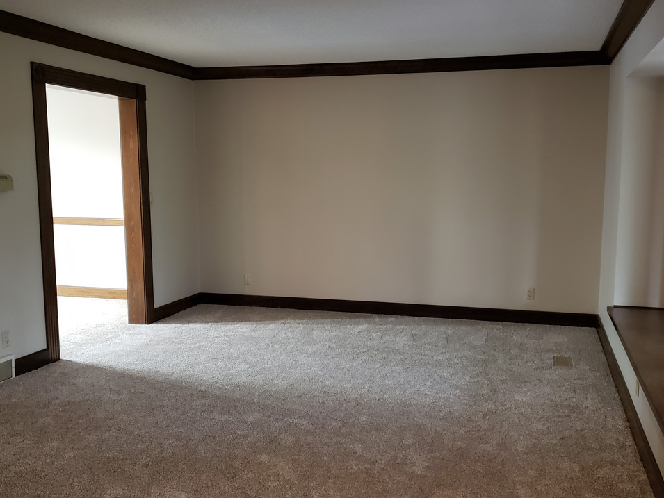 vacant formal living room