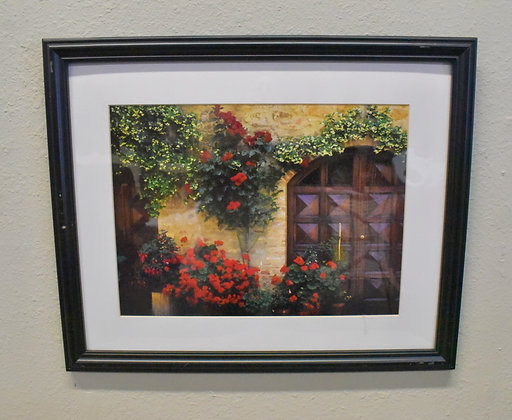 European Door Framed Art