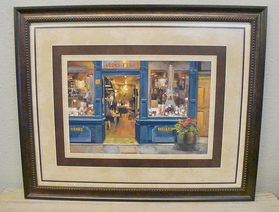 Store Front Framed Art