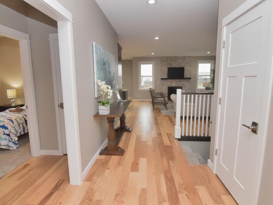 entry of custom builder's home