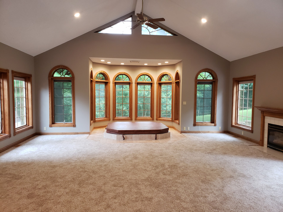 vacant family/game room