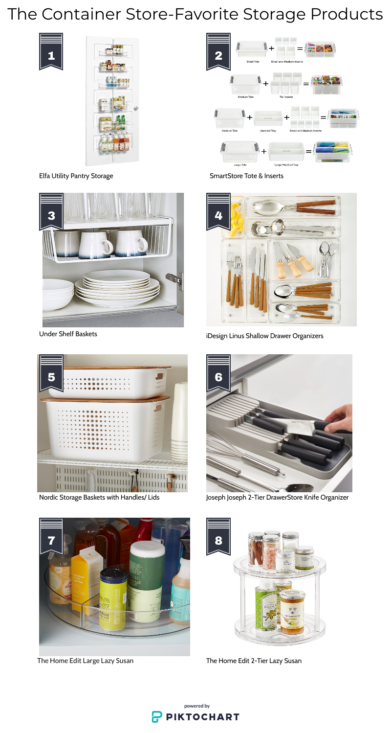 favorite container store products, organizing products, the home edit products, storage solutions, organizing solutions