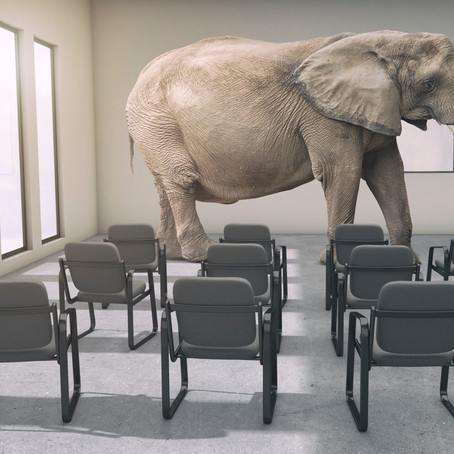 Elephant in the room? No energy policy