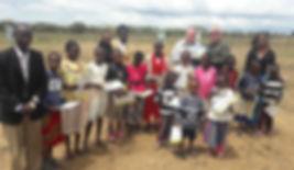 Sunday church class - kenya