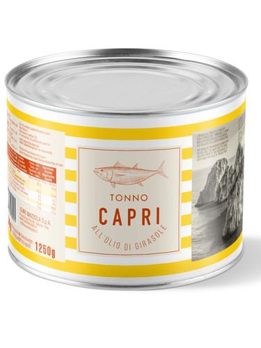 Tonno Capri olio di girasole 1730g