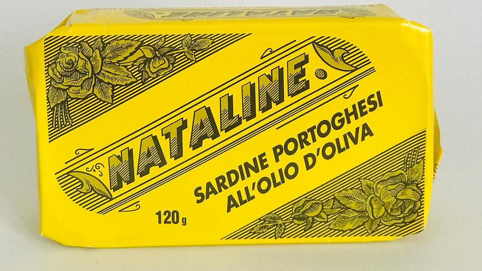 Portugiesische Sardinen Nataline 120g