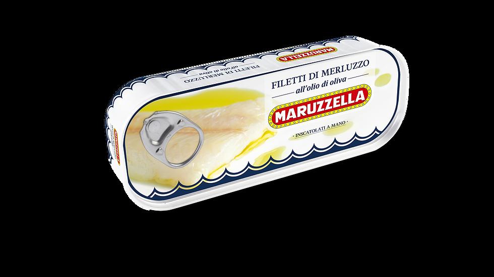 Maruzzella Kabeljaufilets in Olivenöl 130g