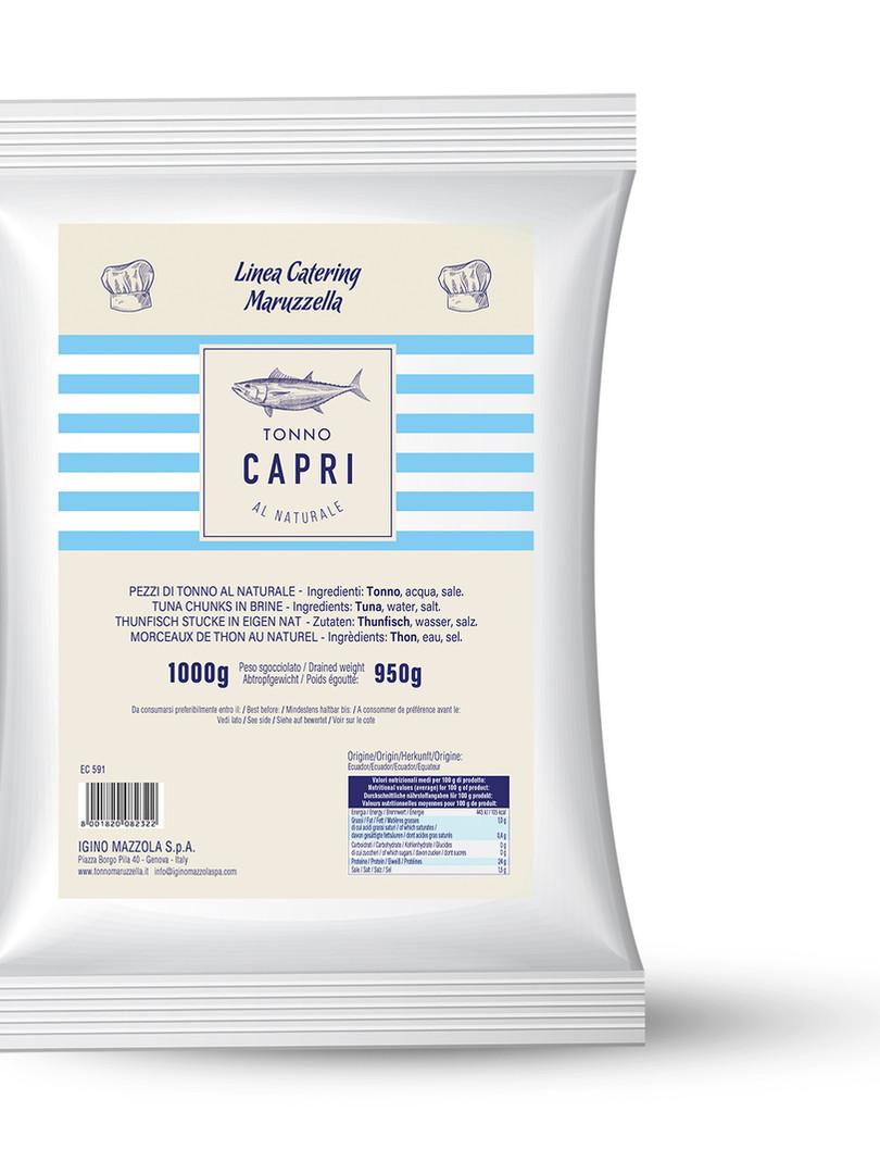 Busta Tonno Capri al naturale 1kg