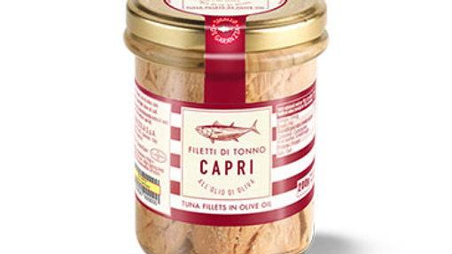 Filetti di Tonno Capri in Olio di Oliva 200g