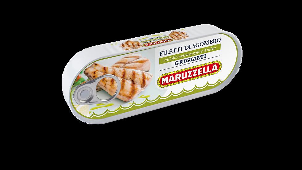 Filetti di Sgombro Maruzzella grigliata all'olio extravergine di oliva 120g