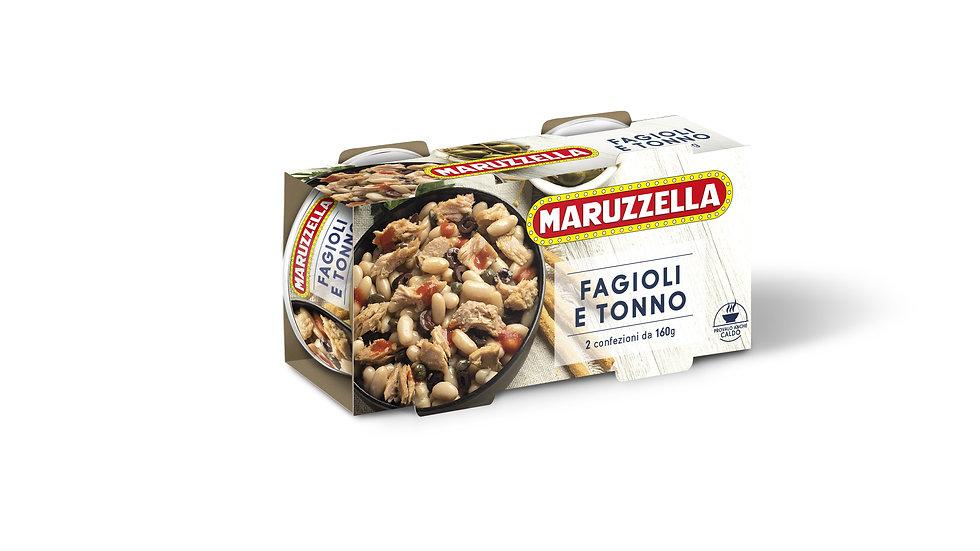 Fagioli e Tonno Maruzzella 2x160 gr