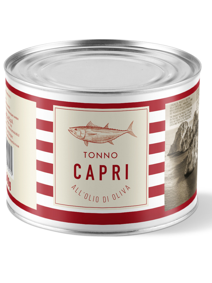 Tonno Capri olio di oliva 1730g